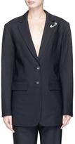 Tibi Safety pin strappy back blazer