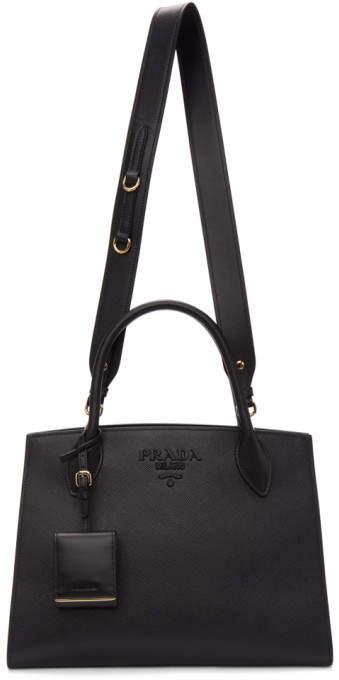 ce91cf942fc0 Prada Saffiano Leather Tote - ShopStyle