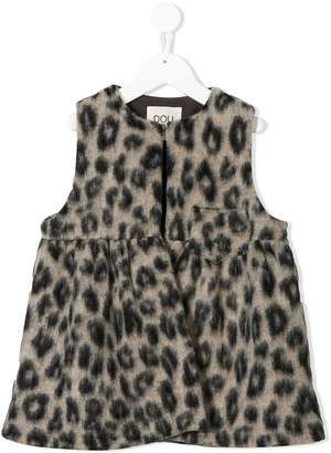 Douuod Kids animal print dress