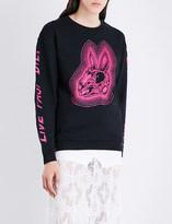 McQ Bunny cotton-jersey sweatshirt