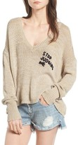 Wildfox Couture Women's Stop Judging Me Sweater