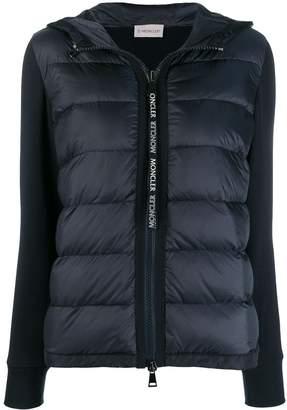 Moncler contrast sleeve padded jacket