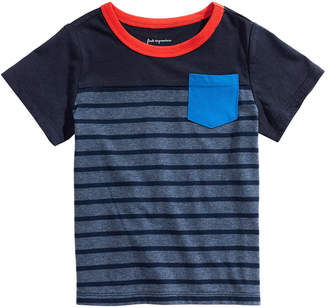 First Impressions Baby Boys Cotton Pocket T-Shirt