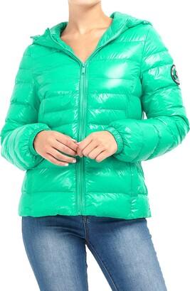 Brave Soul Ladie's Jacket EVERETTEPKB Jade Green UK 8