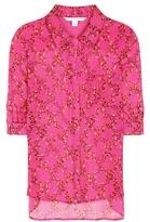 Diane von Furstenberg Lorelei Two Printed Silk Shirt