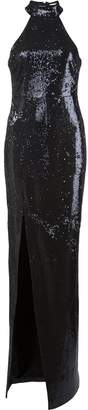 LIKELY sequin evening dress