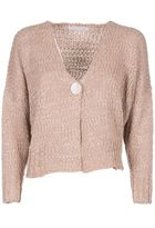 Fabiana Filippi Wide Button Cardigan
