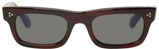 Oliver Peoples Burgundy Jaye Sunglasses