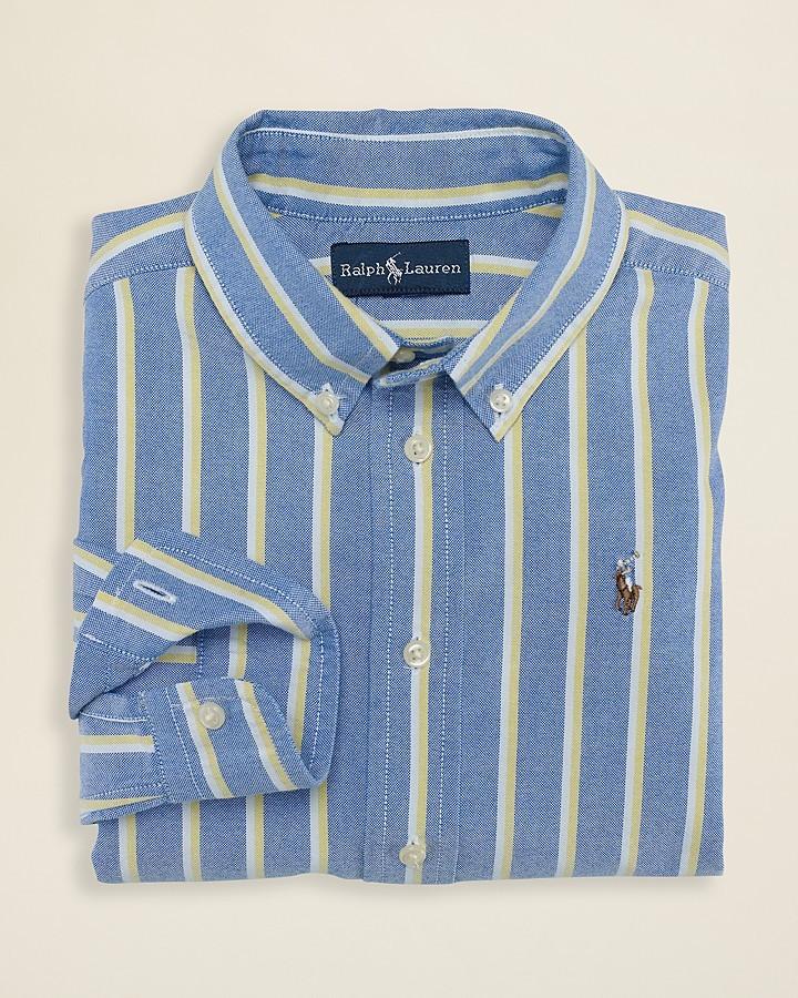 Ralph Lauren Boys' Blake Striped Oxford Shirt - Sizes 4-7