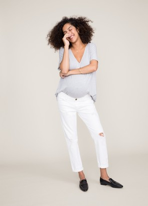 Hatch The New Boyfriend Maternity Jean