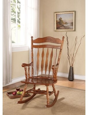 Thumbnail for your product : August Grove Kandice Rocking Chair