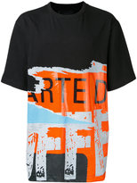 Juun.J printed t-shirt - men - Cotton/Rayon - 46