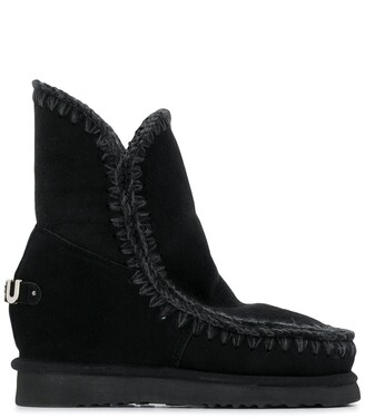 Mou Suede Ankle Boots