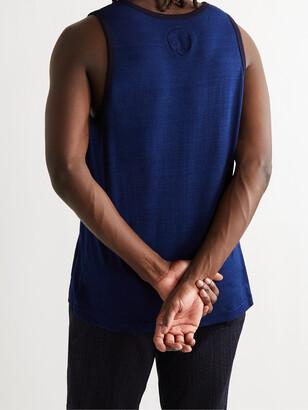 Blue Blue Japan Indigo-Dyed Cotton-Jersey Tank Top