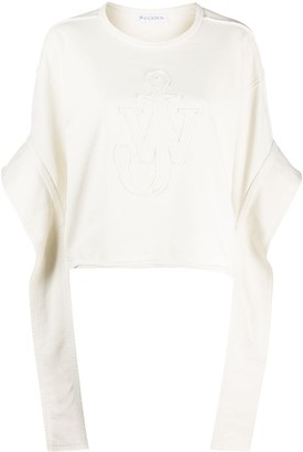 J.W.Anderson Anchor elongated sleeves sweatshirt