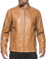 Andrew Marc Rhinecliff Leather Moto Jacket