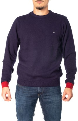 Sun 68 Wool Blend Sweater