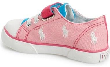 Ralph Lauren 'Bal Harbour' Sneaker (Baby, Walker & Toddler)