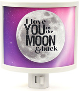 Common Rebels To the Moon and Back Night Light