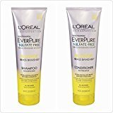 L'Oreal Paris Hair EverPure Blonde Shampoo and Conditioner 8.5 Ounce Duo