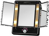 Conair Double-Sided Lighted Makeup Mirror, Cheetah