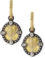 Armenta Shield Drop Earrings