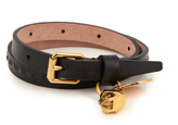 Alexander McQueen Wraparound leather bracelet