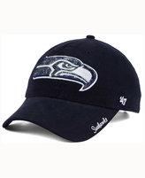 '47 Women's Seattle Seahawks Glitter Logo Clean Up Cap
