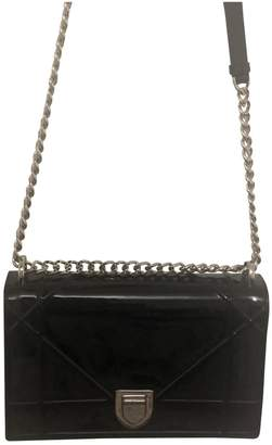 Christian Dior Diorama Black Patent leather Handbags