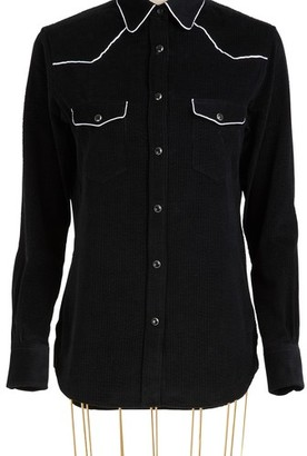 Officine Generale Felice cotton shirt
