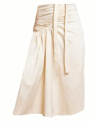 Solai Sustainable White Sand Skirt