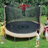 Trainor Sports 11 ft Outdoor Trampoline with Enclosure