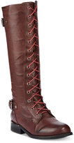 Wanted Cocktail Lace-Up Riding Boots