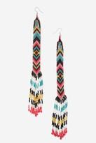 Topshop Beaded Drop Earrings