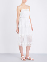 Zimmermann Meridian Circle Lace silk-georgette dress