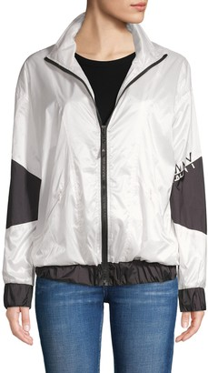 Anthony Logistics For Men La La Colorblock Stand-Collar Track Jacket