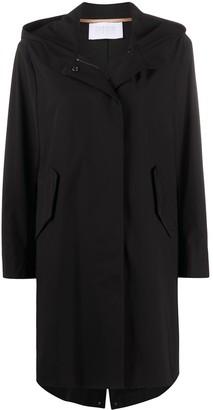 Harris Wharf London Hooded Parka Coat