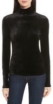 Theory Women's Velvet Turtleneck Top