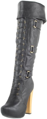 N.Y.L.A. Women's Kaylani Knee-High Boot