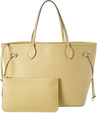 Louis Vuitton Yellow Epi Leather Neverfull Mm Nm