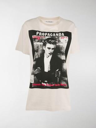 Acne Studios photographic print T-shirt