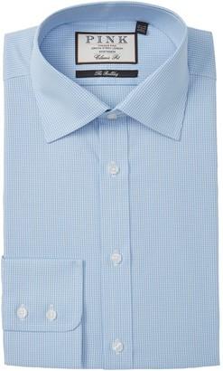 Thomas Pink Bertrand Classic Fit Checkered Dress Shirt