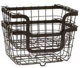 Mikasa Gourmet Basics General Wire Storage Baskets- Set of Two
