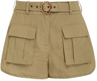 Zimmermann Brighton Pocket Shorts