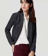 LOFT Tall Knit Notched Blazer