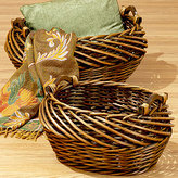 Samantha Chunky Willow Log Baskets