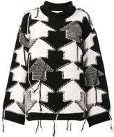 Stella McCartney Check Volume Sweater