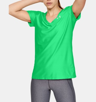 Under Armour Women's UA Tech Short Sleeve V-Neck Novelty