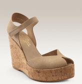 'Rainia' Cork Platform Wedge Sandal