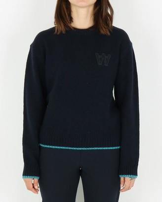 Wood Wood Anneli Sweater Navy - S